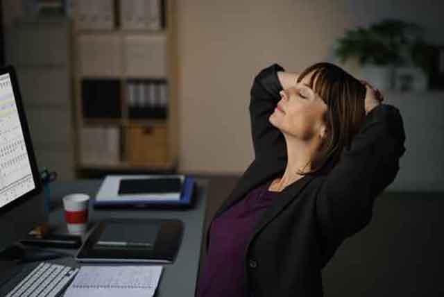 仕事中の眠気覚まし
